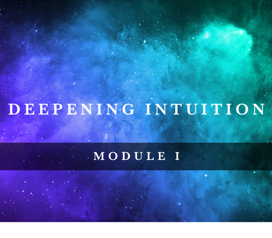 Deepening Intuition I